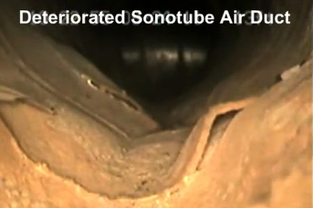 Sonotube Ductwork Rehabilitation Challenges With CIPP